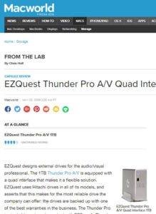 EZQuest awards by Macworld
