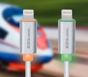 EZQuest's SMART LED Lightning to USB Cable