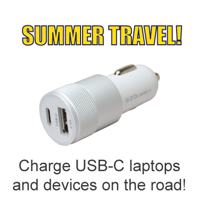 EZQuest's USB-C Car Charger