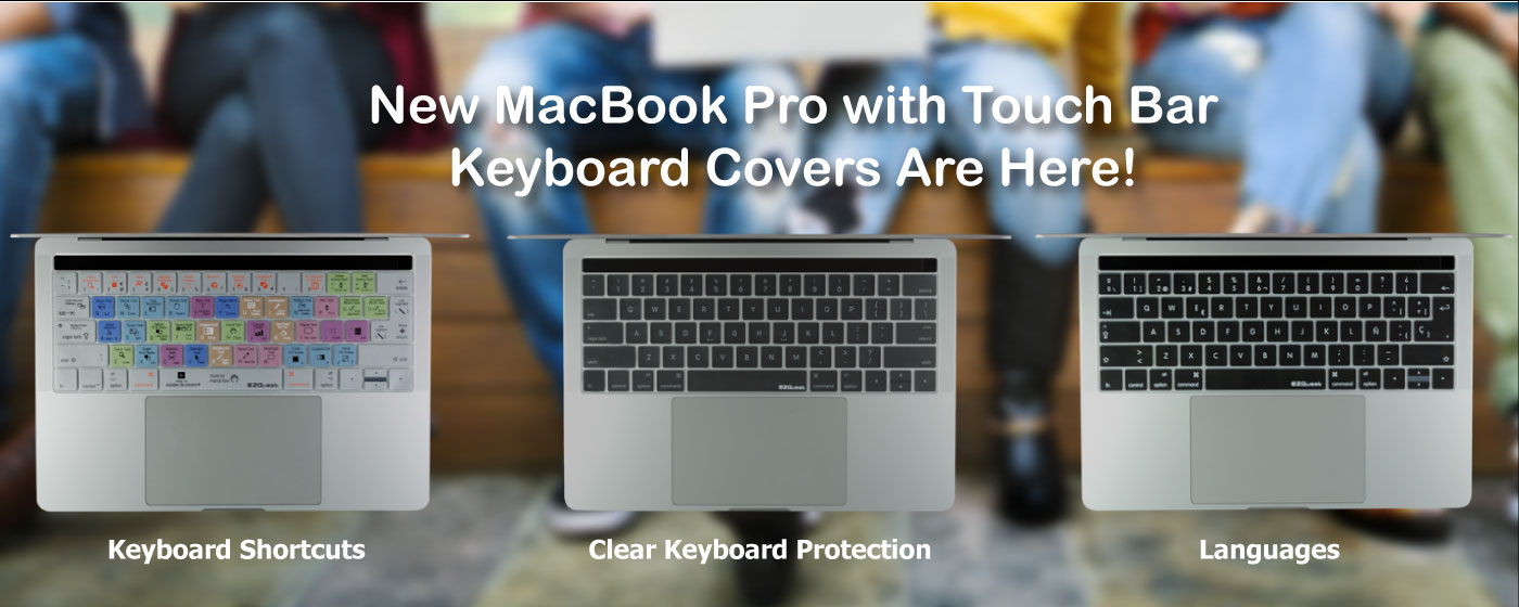 New MacBook keyboard covers