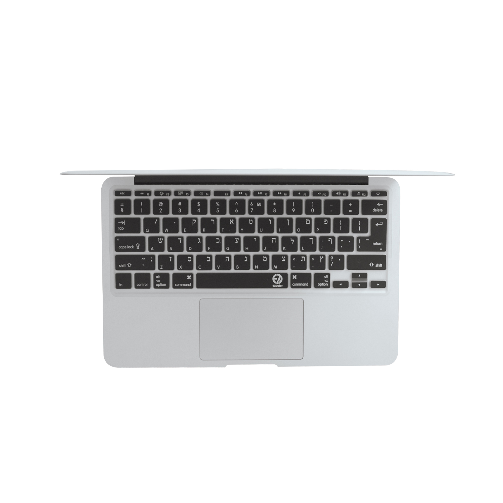 best website 12d44 c5a32 EZQuest Hebrew Keyboard Cover for Mac