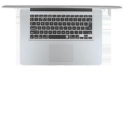 Capa de teclado portuguesa