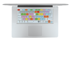 Final Cut Pro Shortcuts Keyboard Cover for Mac.
