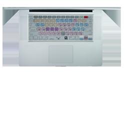 Avid Pro Tools keyboard shortcuts cover / skin for Mac