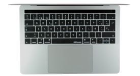 Spanish keyboard covers for 2016 MacBook Pro with Touch Bar by EZQuest