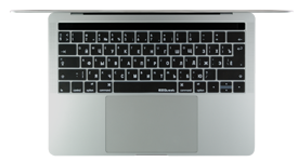 Russian keyboard cover for MacBook Pro; Русская клавиатура крышка