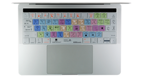 2016 MacBook Pro with Touch Bar Illustrator keyboard shortcuts cover
