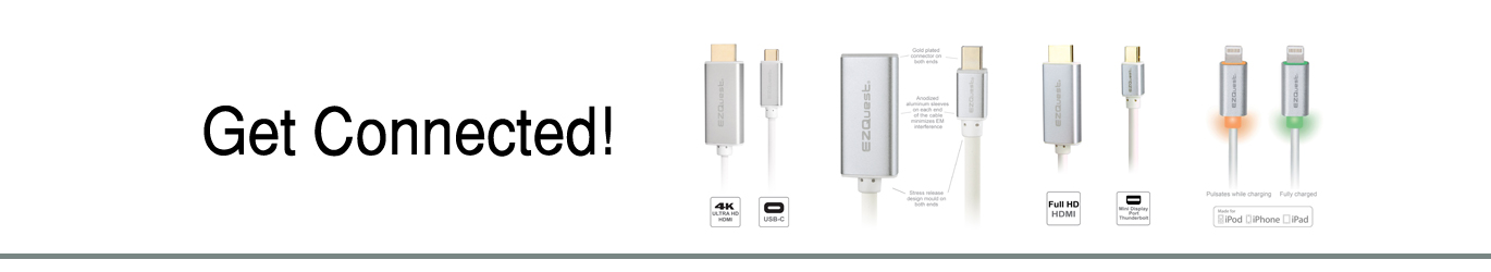 EZQuest cables and adapters for Mac