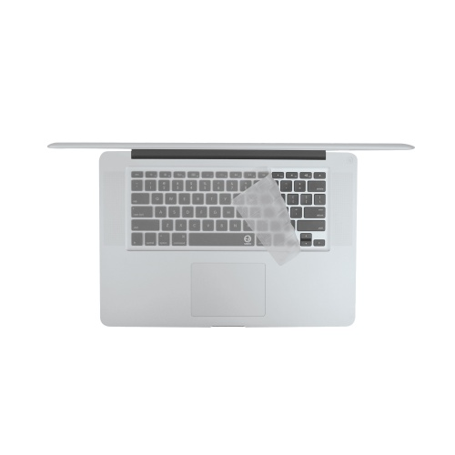 EZQuest Invisible Ice Macbook Pro keyboard skin.