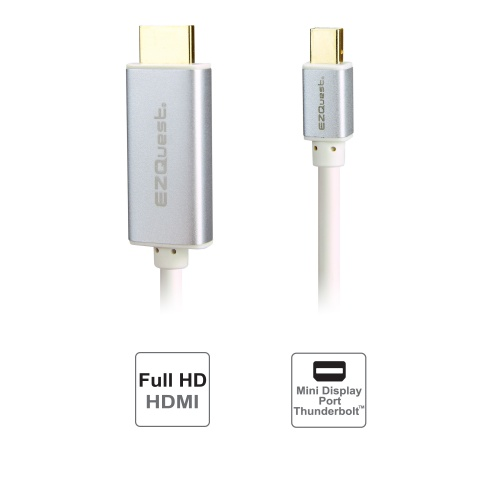 EZQuest Mini DisplayPort-to-HDMI Cable for Mac.
