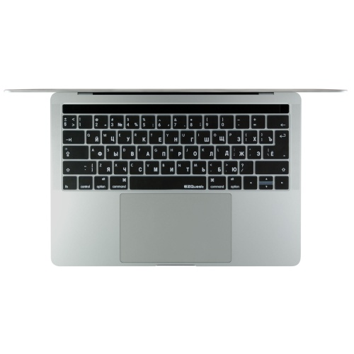 EZQuest Russian keyboard covers for 2016 MacBook Pro with Touch Bar.