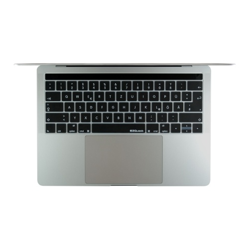 German keyboard for MacBook Pro with Touch Bar