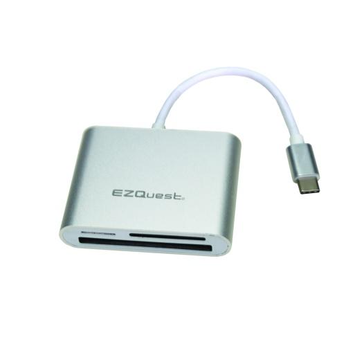 USB-C multi port card reader