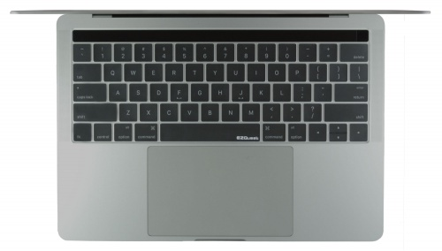 Clear keyboard cover for 2016 MacBook Pro with Touch Bar