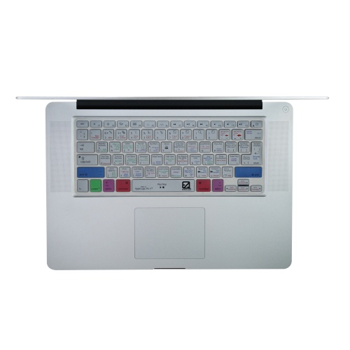 EZQuest's Logic Pro X keyboard shortcuts keyboard covers.
