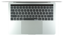 MacBook Pro with Touch Bar clear keyboard cover