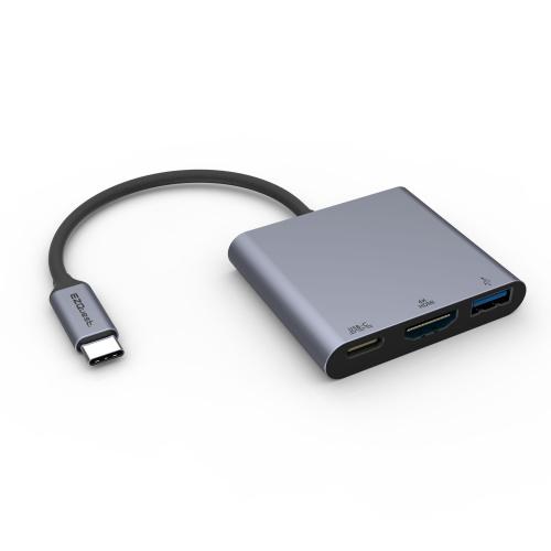 USB-C Multimedia Charging Adapter 3 Ports